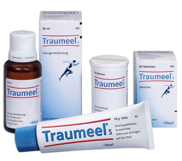 Траумель для лечения шишки на ноге