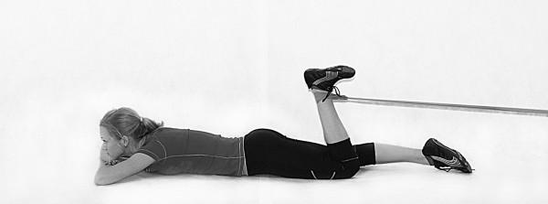 Силовая тренировка при разрыве связок колена