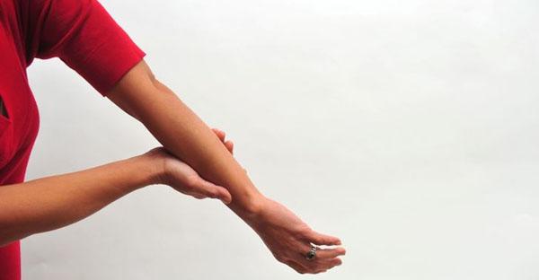 Хронический тендовагинит предплечья