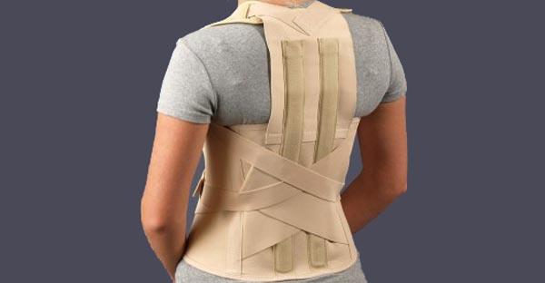 Жесткий корсет для спины