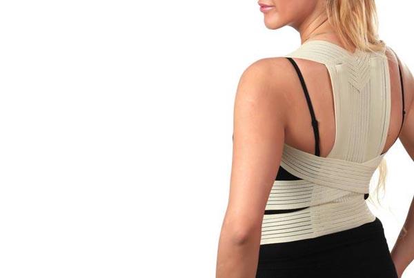 Полужесткий корсет для спины