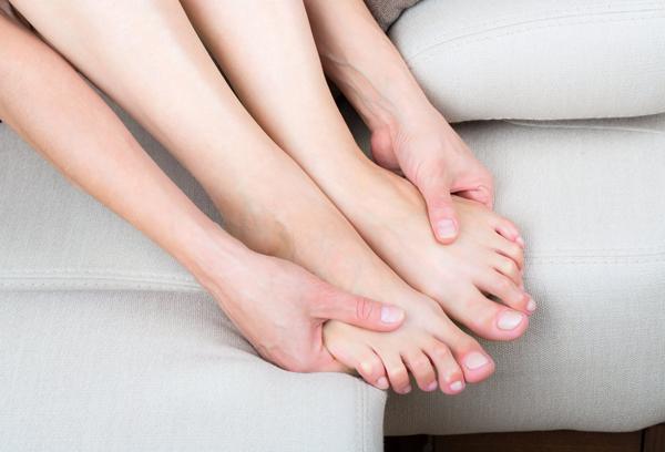 Онемение ступней