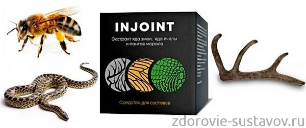 Невидимый гель-пластырь для суставов Injoint
