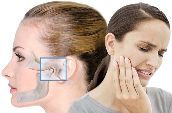 Диспалазия сочленения нижней челюсти
