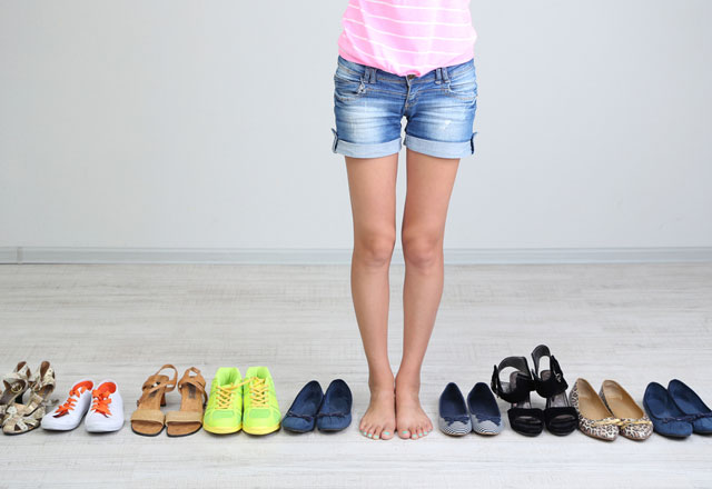 Выбор обуви при бурсите