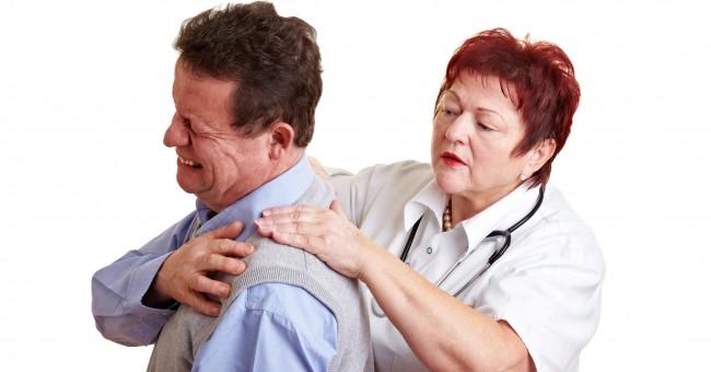 Боль при периартрите