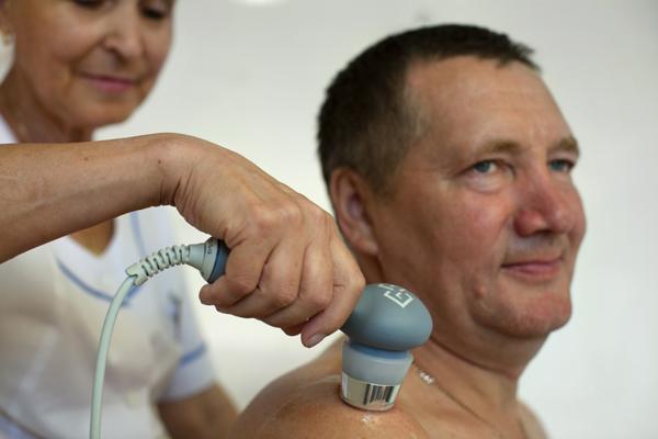 Лечение суставов ультрахвуком