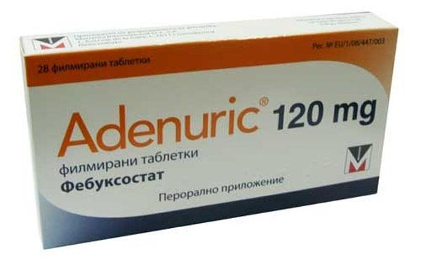 новые препараты при подагре