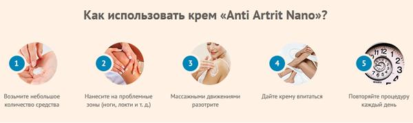 Anti Artrit Nano инструкция