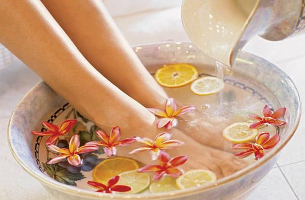 Ванночки для ног при плоскостопии