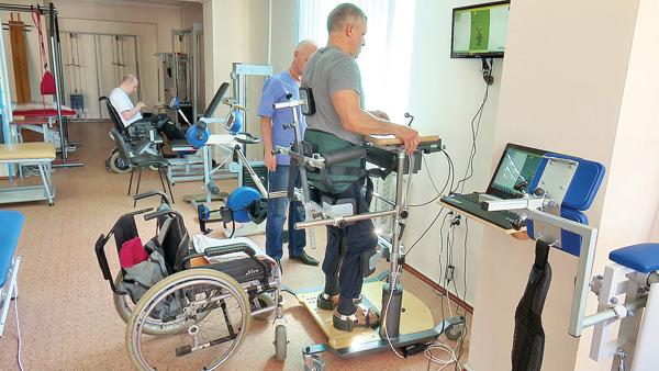 Механотерапия в санатории Саки