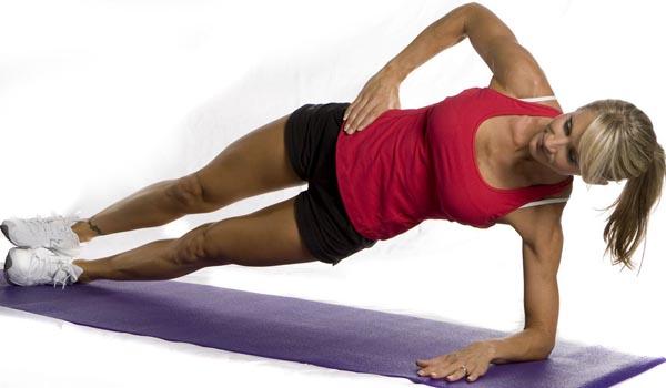 Упражнение от сколиоза - планка