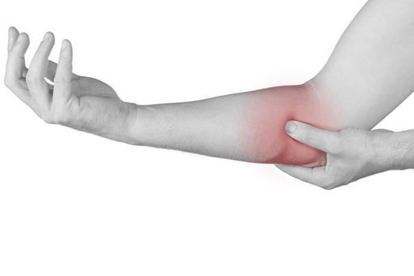 Симптомы артрита локтя