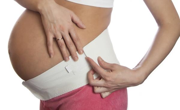 Бандаж во время беременности против грыжи позвоночника