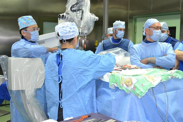 Гемангиома, операция