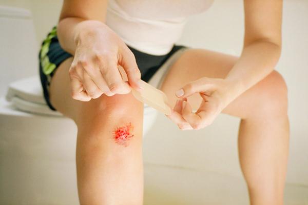 Ушиб колена у взрослого